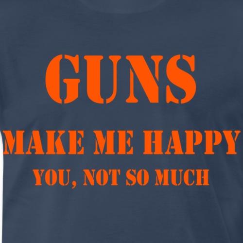 Gunsorange - Men's Premium T-Shirt