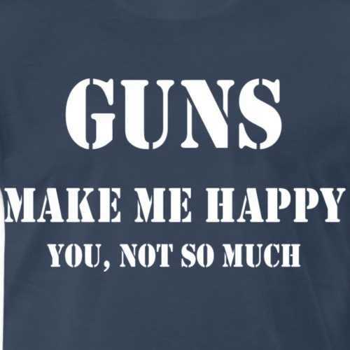 Gunswhite - Men's Premium T-Shirt
