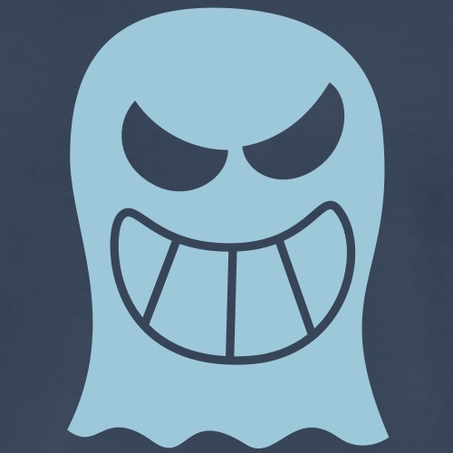Naughty Halloween Ghost - Men's Premium T-Shirt
