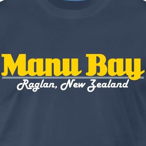 Manu Bay Raglan, New Zealand - Men's Premium T-Shirt