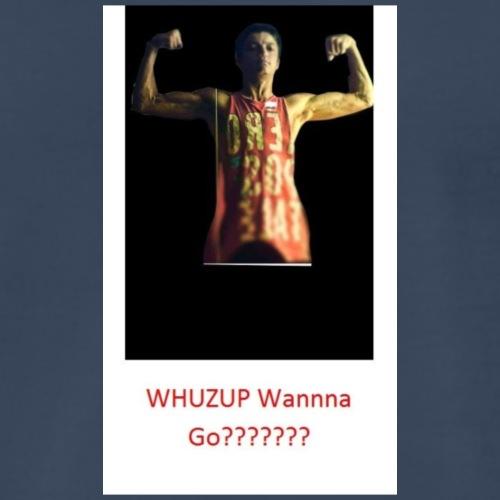 WHUZUP WANNA GO? - Men's Premium T-Shirt