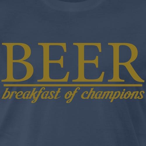 Beer Breakfast of Champions - Men's Premium T-Shirt