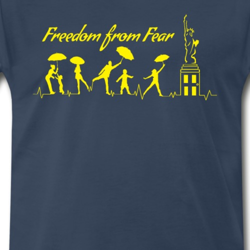 Freedom from Fear 2 - Men's Premium T-Shirt