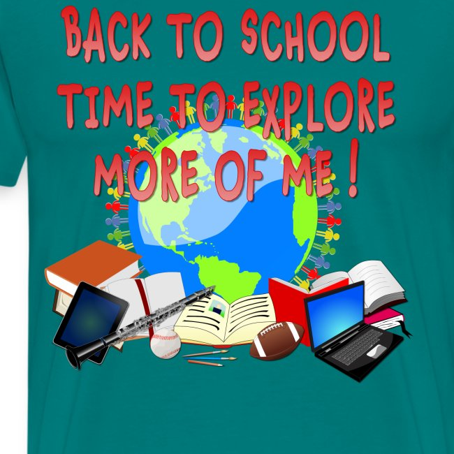 BACK TO SCHOOL, TIME TO EXPLORE MORE OF ME !