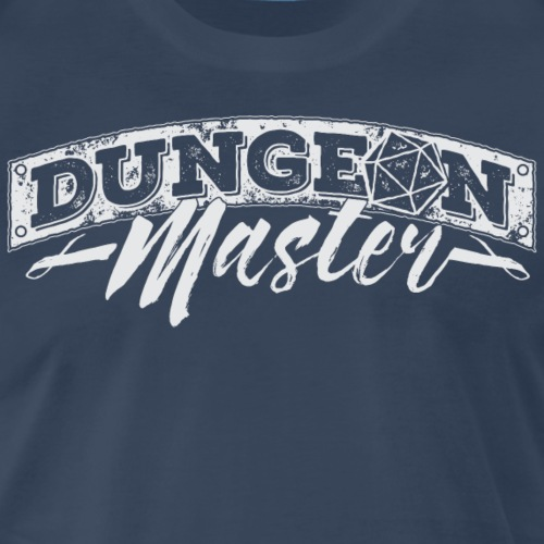 Dungeon Master & Dragons - Men's Premium T-Shirt
