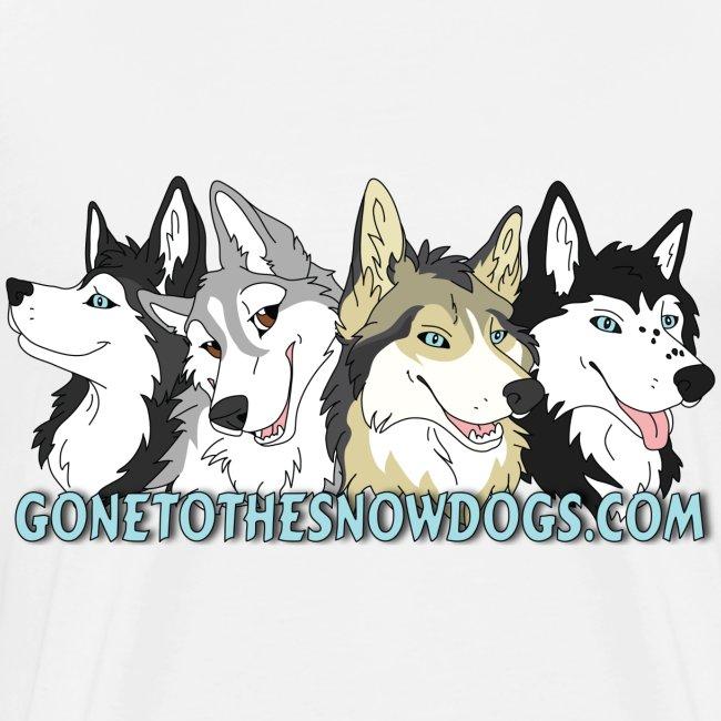 Siberian Husky Snow Dogs