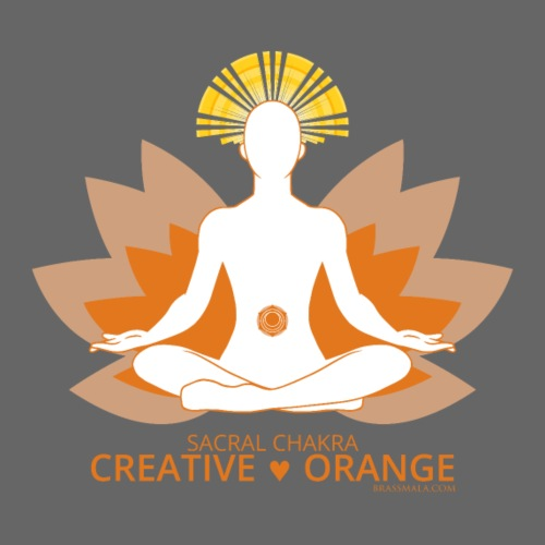Chakra - Creative Orange - Men's Premium T-Shirt