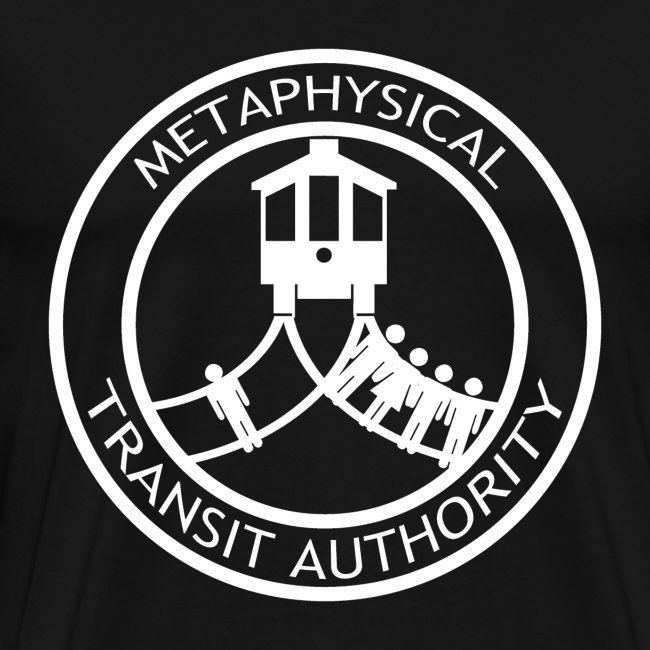 Metaphysical Transit Authority copy white transpar