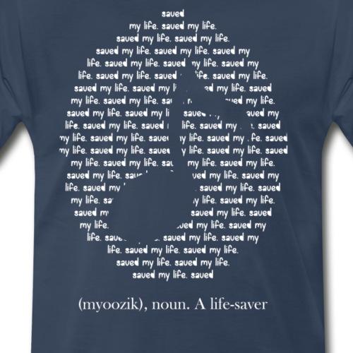 M-Print Series: Music - Men's Premium T-Shirt