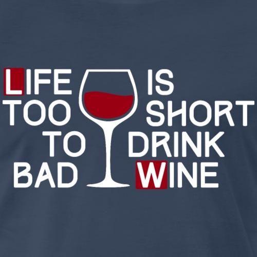 Bad wine (dark) - Men's Premium T-Shirt