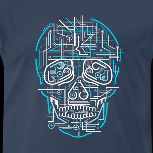 Electric Sugar Skull - Men's Premium T-Shirt