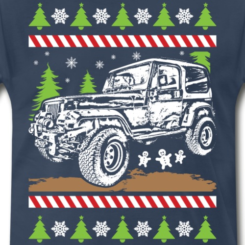 Ugly Christmas Jeeper - Men's Premium T-Shirt