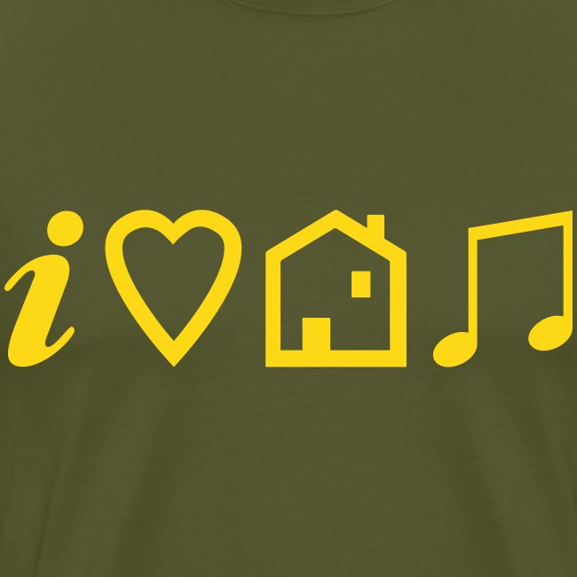 I Heart House Music - Symbolic Design 1