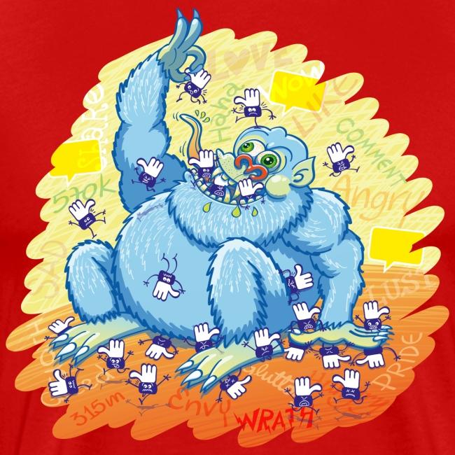 Voracious social networks' monster gobbling likes