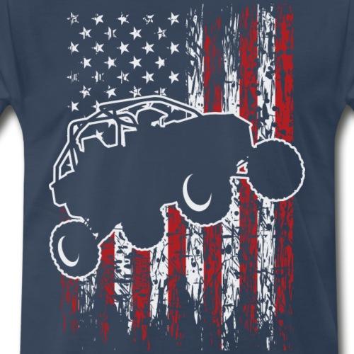 USA UTV RZR Racing - Men's Premium T-Shirt