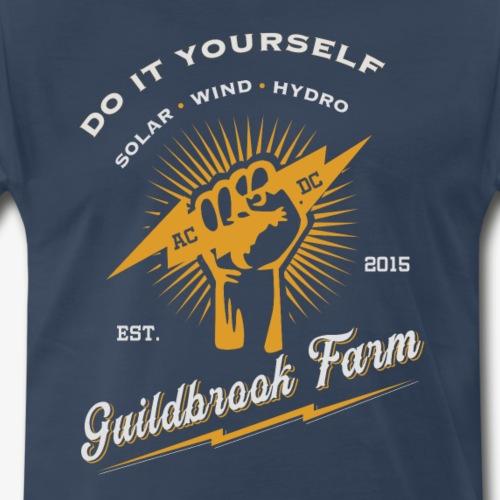 DIY Solar Wind Hydro - Men's Premium T-Shirt