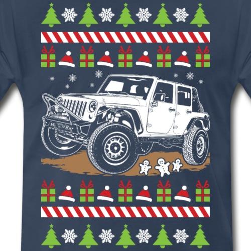 Ugly Christmas Wrangler - Men's Premium T-Shirt