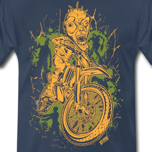 Motocross Halloween - Men's Premium T-Shirt