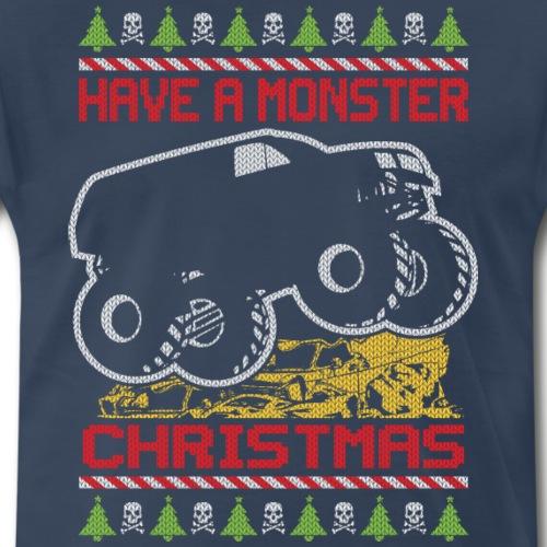 Monster Ugly Christmas - Men's Premium T-Shirt