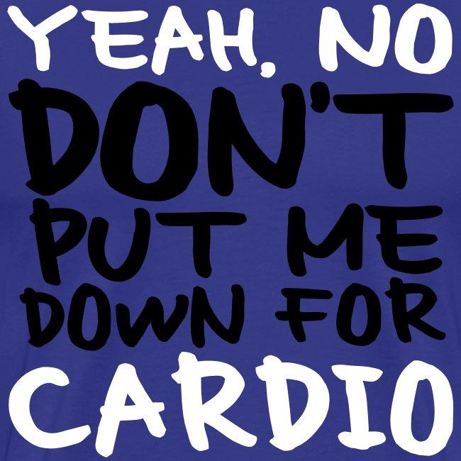 No Cardio