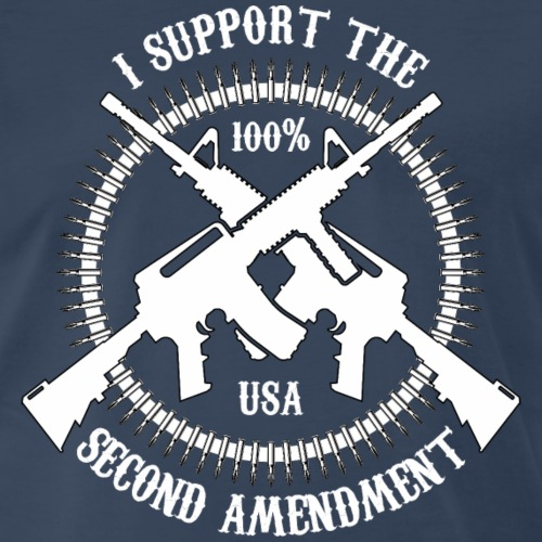 I Support The Second Amendment - Men's Premium T-Shirt