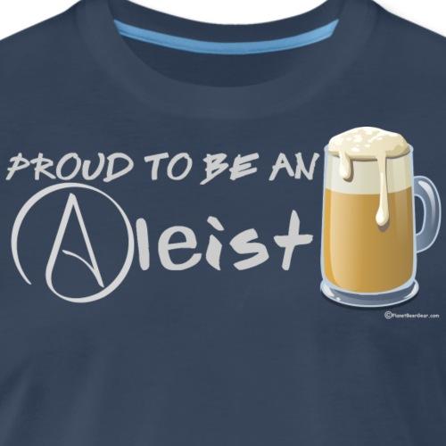 Proud To Be An Aleist Women's Premium Long Sleeve - Men's Premium T-Shirt
