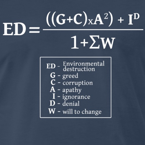 formulaEN-white - Men's Premium T-Shirt
