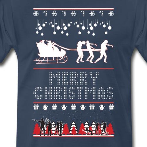 Zombie Christmas - Men's Premium T-Shirt