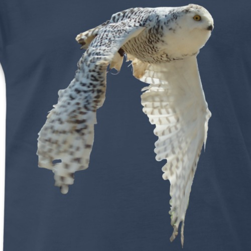 snowy owl Hedwig cute awesome photo art - Men's Premium T-Shirt
