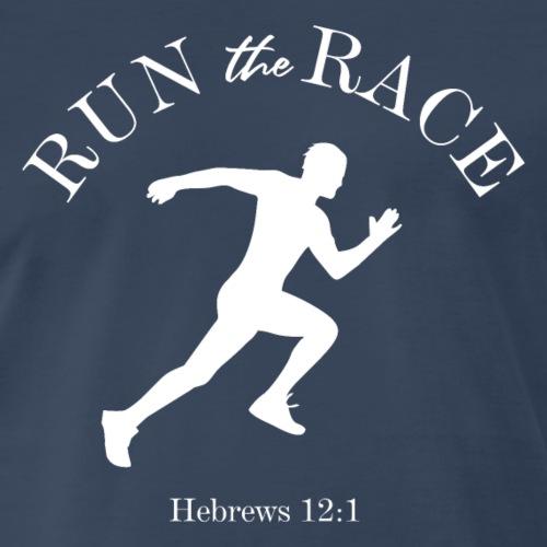 Run the Race - Men's Premium T-Shirt
