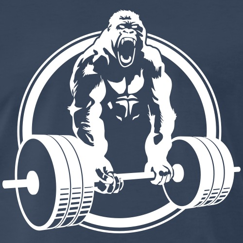 Gorilla Lifting Fitness - Men's Premium T-Shirt