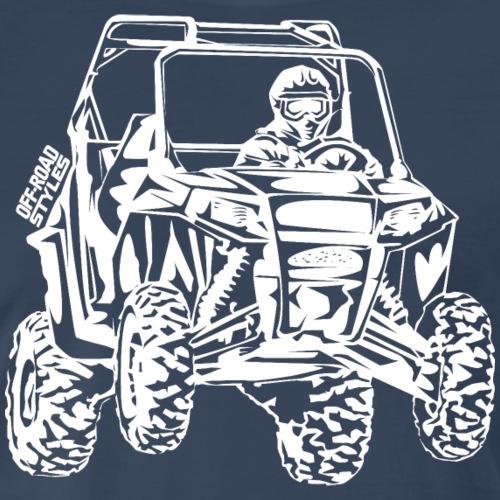 UTV Side-X-Side racer - Men's Premium T-Shirt