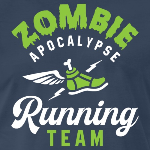 Zombie Apocalypse Running Team - Men's Premium T-Shirt