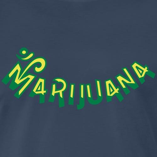 Om Marijuana - Men's Premium T-Shirt