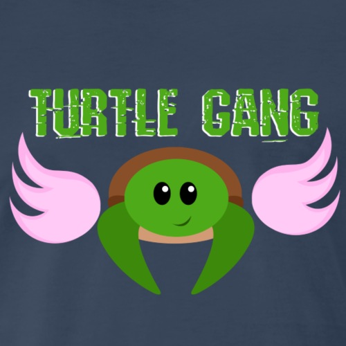 Turtle Gang Wings - Men's Premium T-Shirt