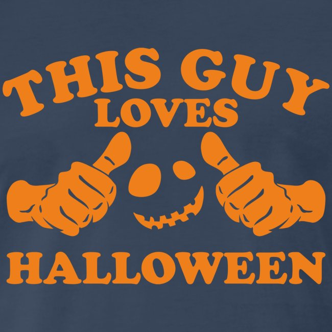 This Guy Loves Halloween