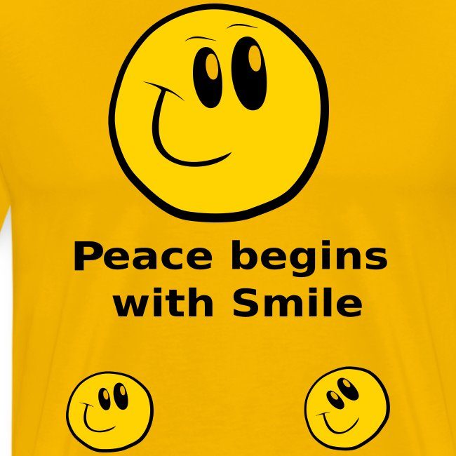 Peace begins with Smile