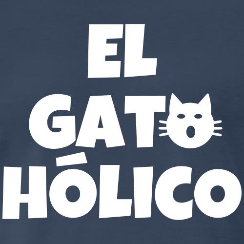El gato holico - Men's Premium T-Shirt