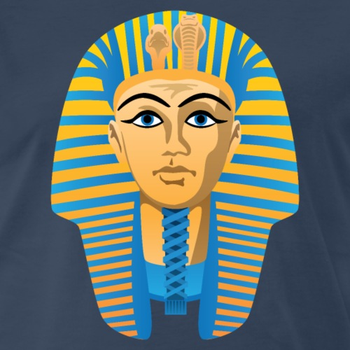 Egyptian Golden Pharaoh Burial Mask - Men's Premium T-Shirt