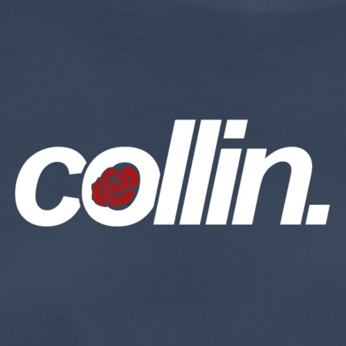 Collin. (White w/ Rose) - Men's Premium T-Shirt