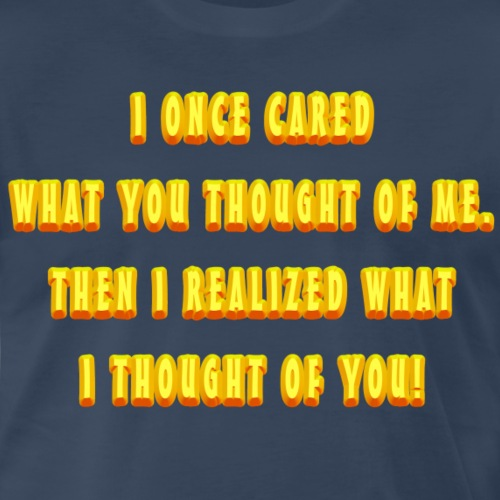 I Once Cared - Men's Premium T-Shirt