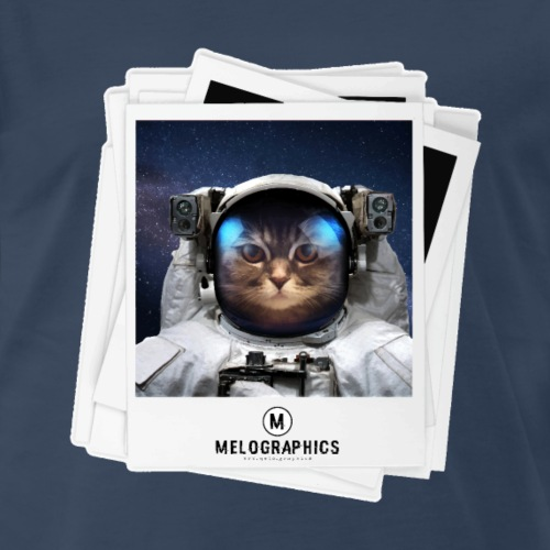 Cat Astronaut - Men's Premium T-Shirt
