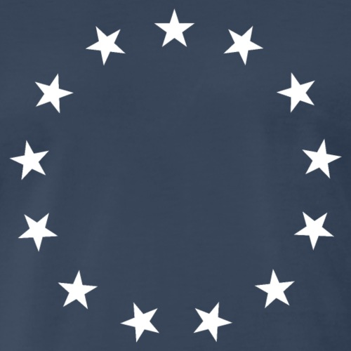 13 Stars Patriotic Circle - Men's Premium T-Shirt