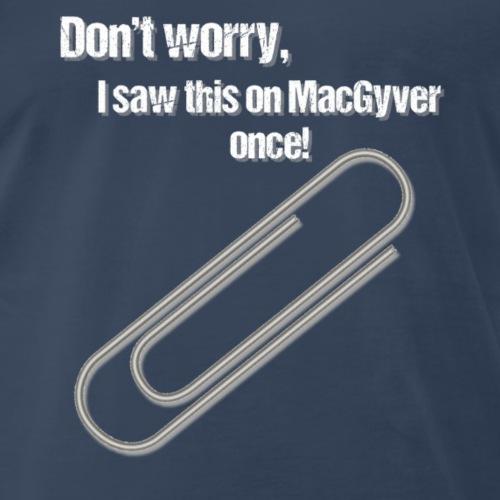 Paperclip Trick - Men's Premium T-Shirt