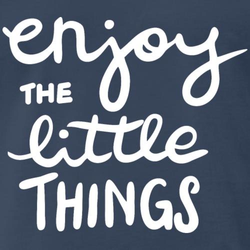 Enjoy the little things (dark) - Men's Premium T-Shirt