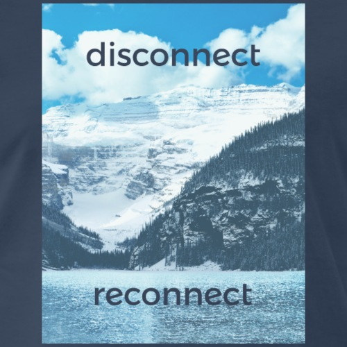 Disconnect Reconnect - Men's Premium T-Shirt