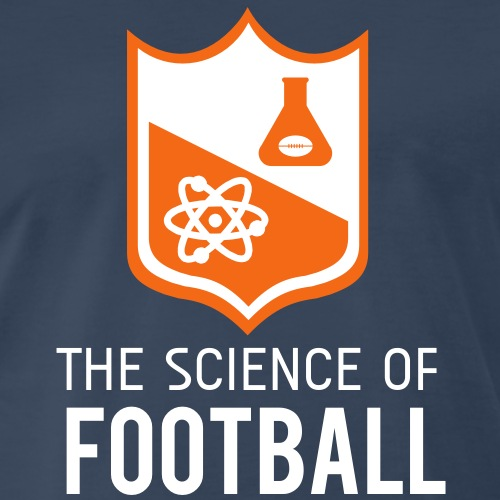 The Science of Football - Men's Premium T-Shirt