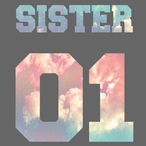 Sister 01, Sisters, Siblings, Family, Birthdays - Men's Premium T-Shirt