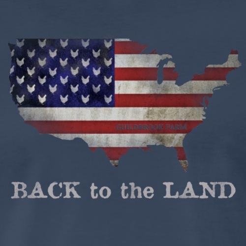 Back To The Land - Men's Premium T-Shirt