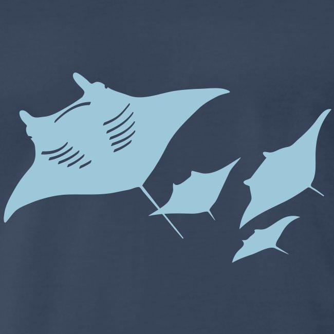 manta ray sting scuba diving diver dive